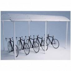 Elektrinių paspirtukų, dviračių, motorolerių stoginė 15