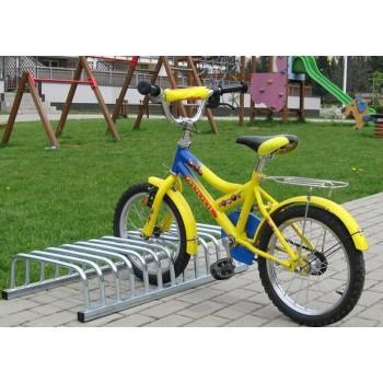 Vaikiškas dviračių dvipusis stovas