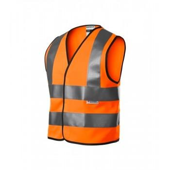 Signalinė, šviesą atspindinti liemenė - oranžinė